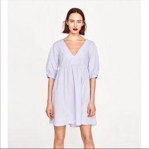 Zara Cotton Babydoll Dress